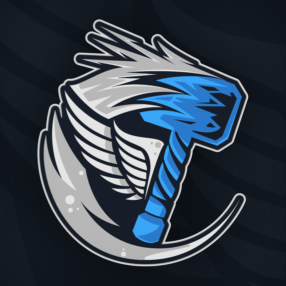 Langgardtv Mascot Logo For Twitch Streamers